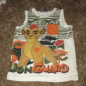 Disney boys tank top